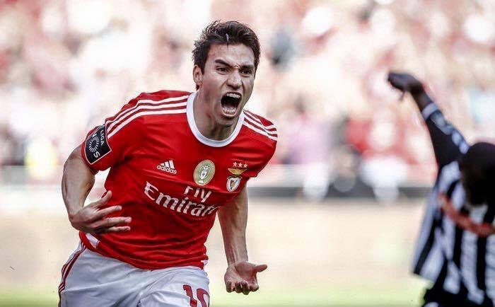 Gaitán estava no Benfica desde 2010 - Reprodução/Facebook