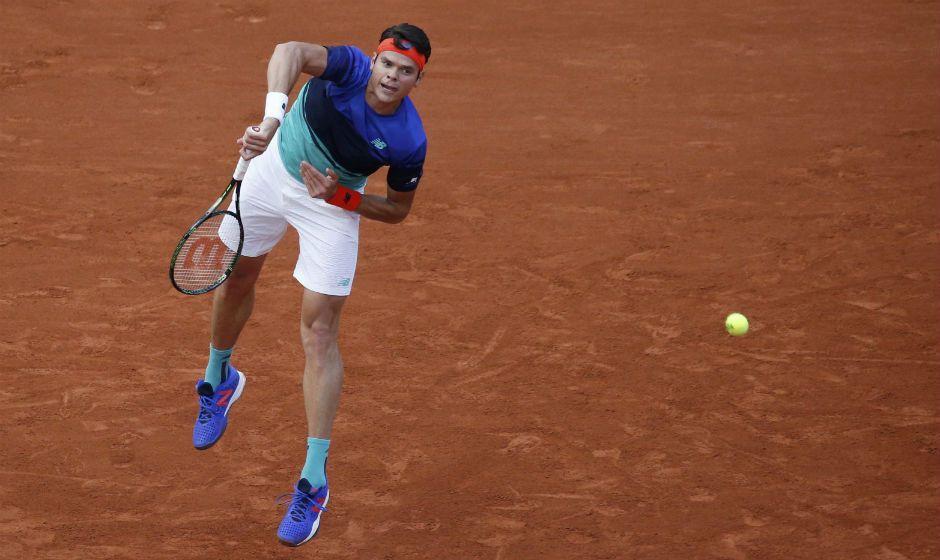 Milos Raonic vence e avança em Roland Garros