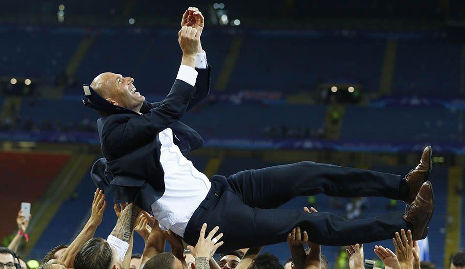 Zidane diz que aceitou ser treinador por sonhar com título