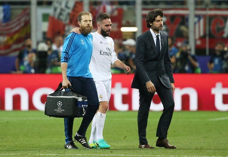Lesão muscular deve tirar Carvajal da Eurocopa
