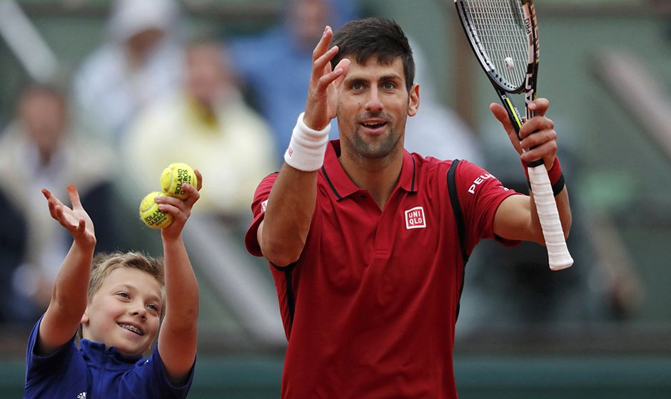 Djokovic ganha e está nas semifinais de Roland Garros
