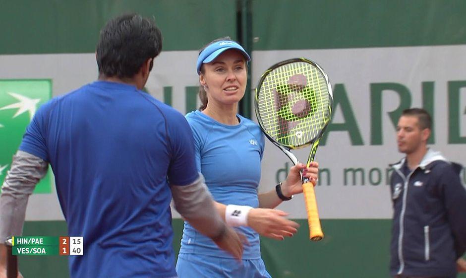 Bruno Soares perde nas duplas mistas e deixa Roland Garros