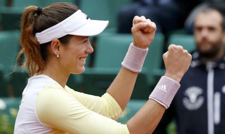 Muguruza garante vaga na final de Roland Garros