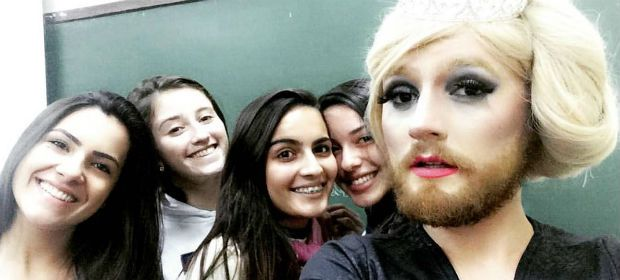 professor drag queen