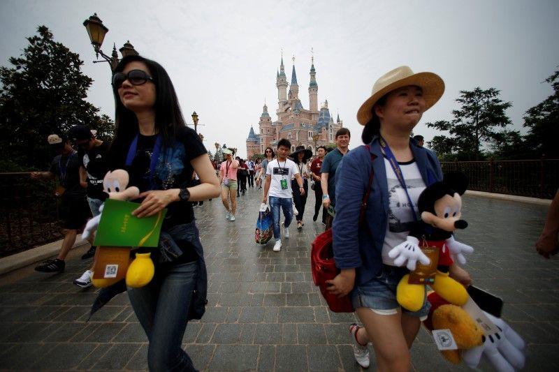 Disney inaugura parque temático de U$5,5 bilhões na China