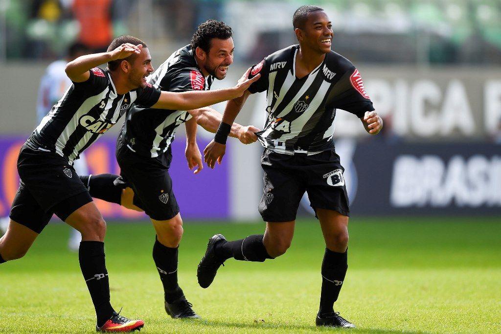 Em duelo mineiro, Robinho dá vitória ao Atlético