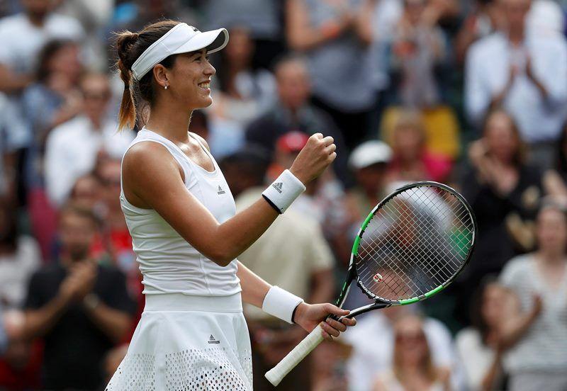 Muguruza derrota italiana em 3 sets na estreia em Wimbledon