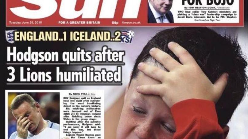 Jornal é criticado por colocar filho de Rooney na capa