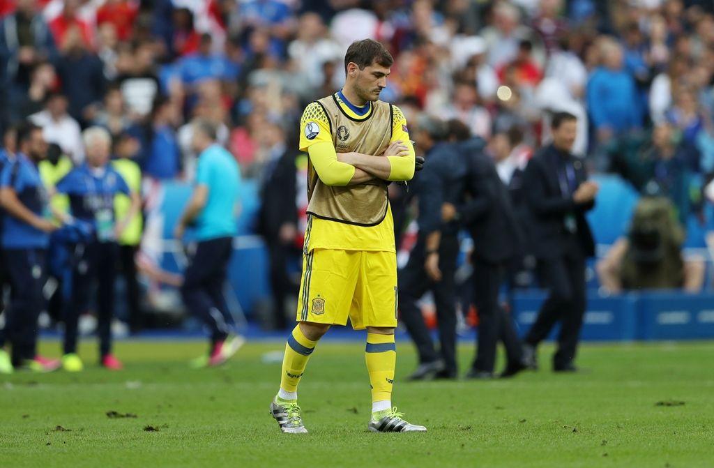 Casillas usa Rambo para indicar aposentadoria da seleção