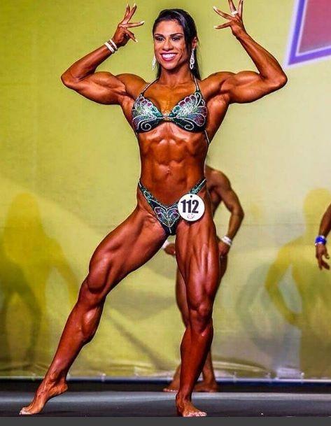 Fernanda era campeã de fisiculturismo / Instagram/Reprodução