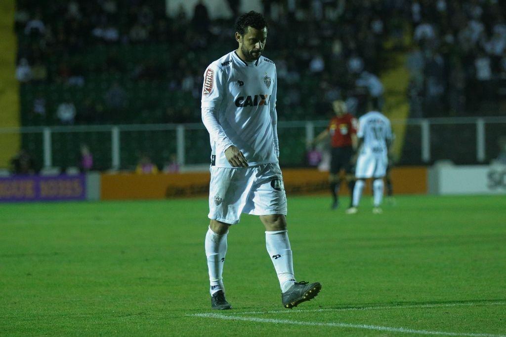 Fred é expulso, e Atlético-MG empata com o Figueirense