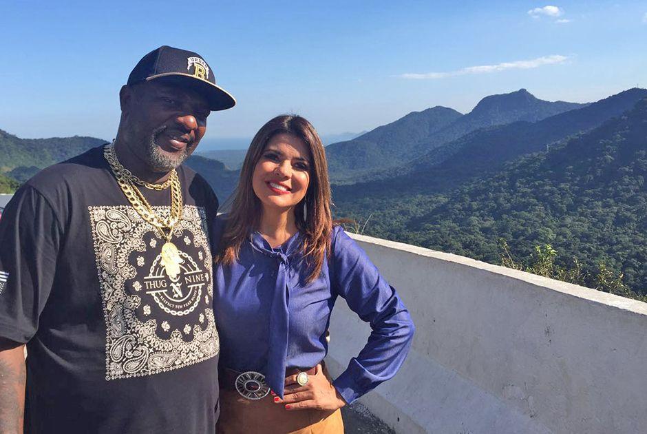 Mr. Catra e Mara Maravilha estão no Bate & Volta