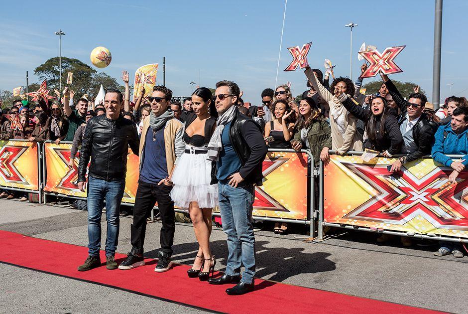 X Factor reúne milhares de pessoas na Arena Corinthians na 1ª fase
