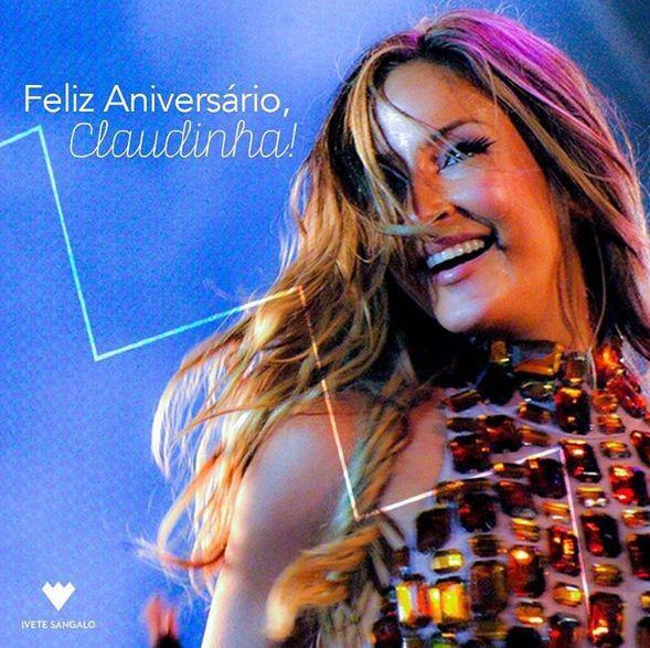 Ivete Sangalo parabeniza Claudia Leitte na web / Divulgação/Instagram