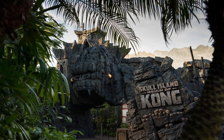 Universal inaugura atração do filme King Kong