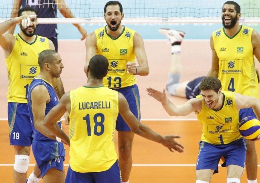 Itália perde set em vitória sobre EUA e garante Brasil na semi