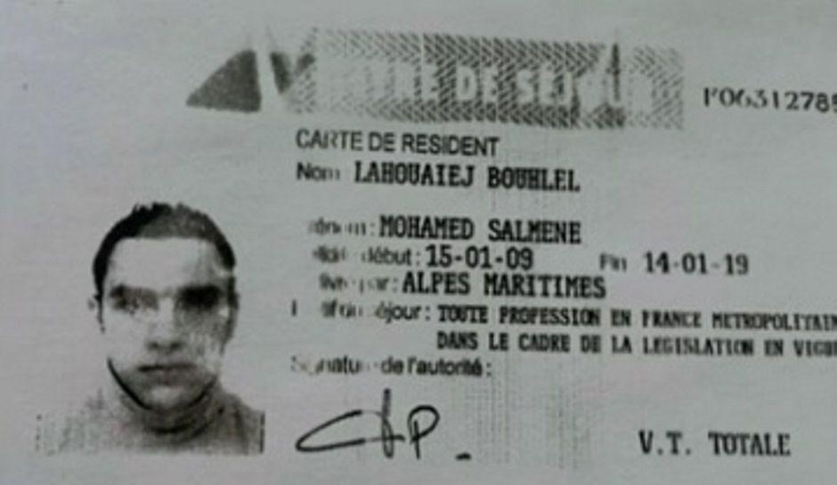 Homem francês de origem tunisiana foi identificado como Mohamed Lahouaiej Bouhlel, de 31 anos / Reprodução/Jornal da Band