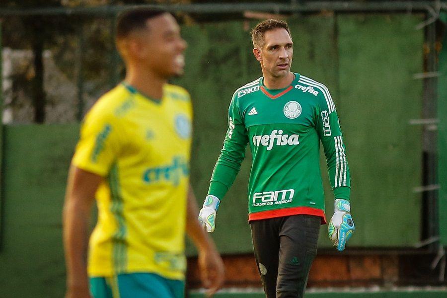 Prass e Gabriel Jesus querem se despedir do Palmeiras na liderança