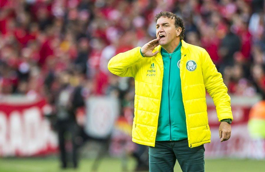 Cuca comemora vitória em Porto Alegre