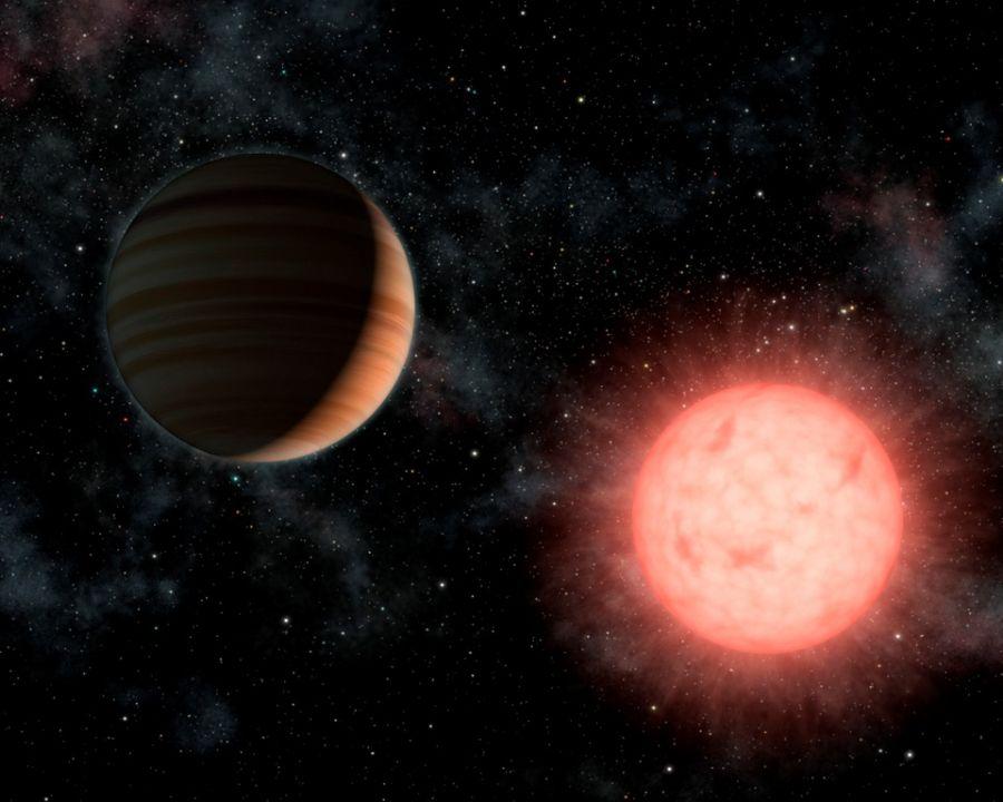 Nasa descobre Kepler-10b, pequeno planeta fora do Sistema Solar.