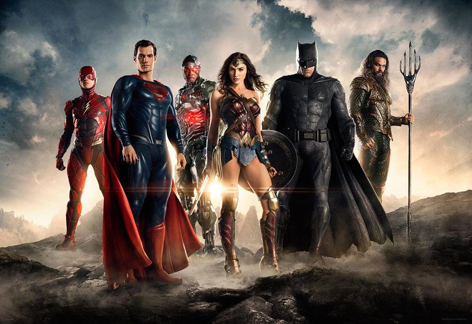 Heróis se reúnem em primeira imagem oficial do filme / Divulgação/Warner Bros.