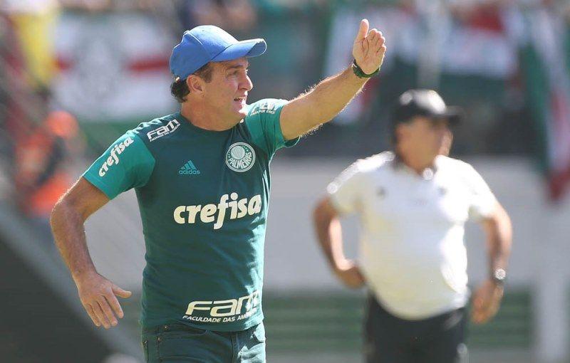 Cuca vê Atlético-MG no mesmo nível do Palmeiras