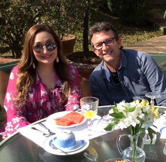 Sônia Abrão diz para Neto que é contra o casamento