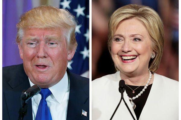 EUA: pesquisa mostra Hillary 12 pontos à frente de Trump