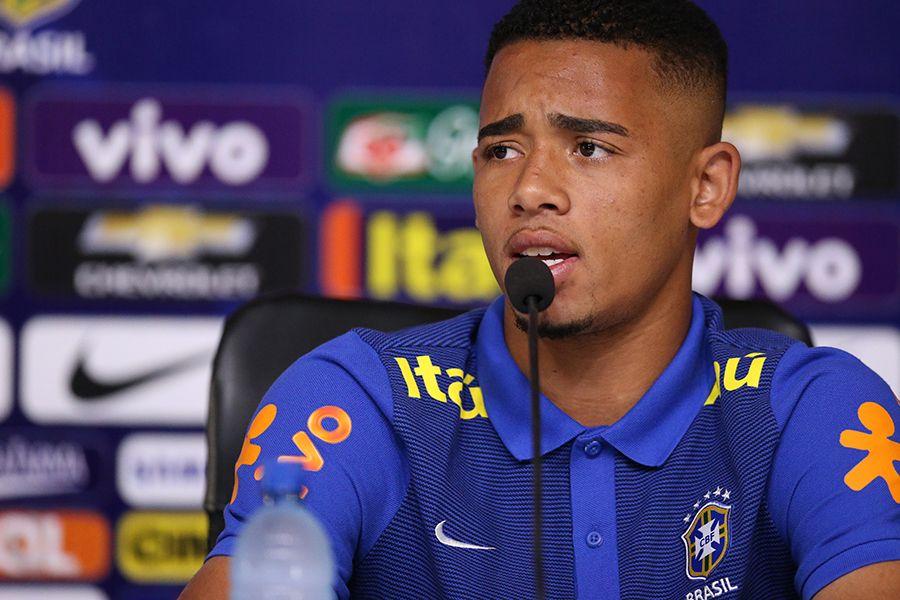 Gabriel Jesus admite saída do Palmeiras: