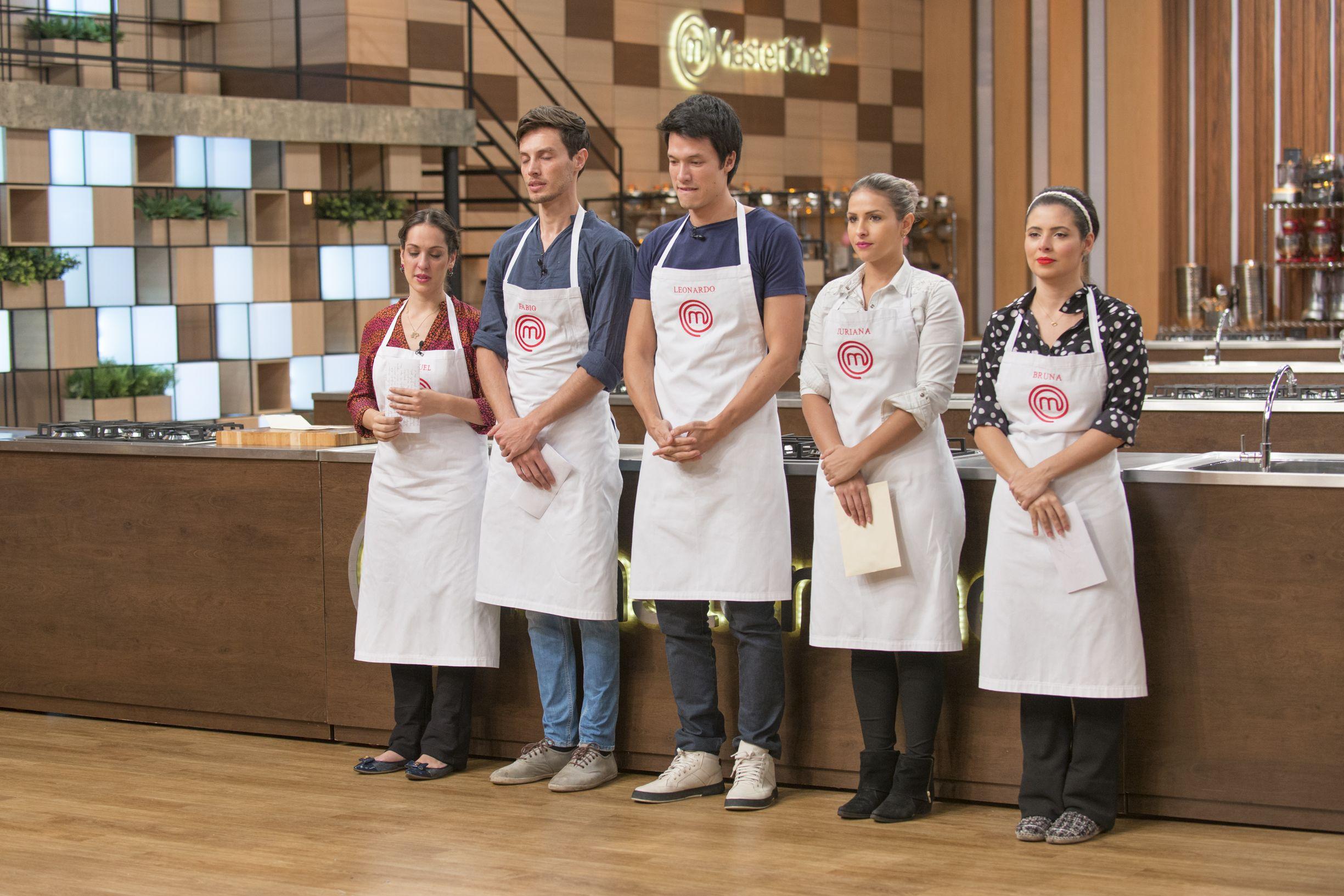 Cinco finalistas