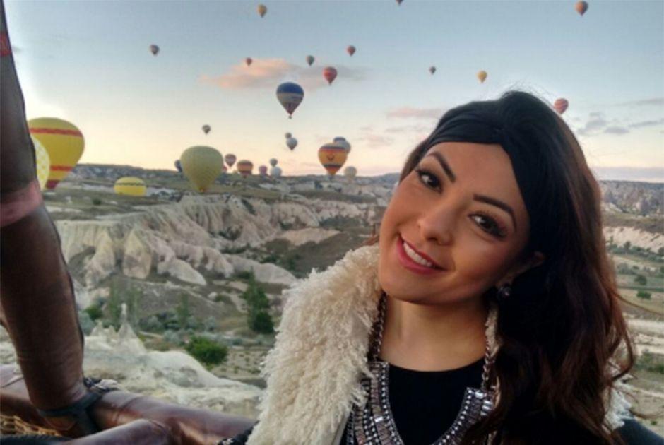 Li Martins anda de balão e visita as Chaminés de Fada