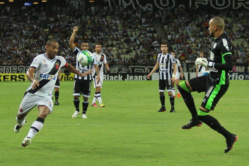 Vasco e Ceará empatam sem gols no Castelão