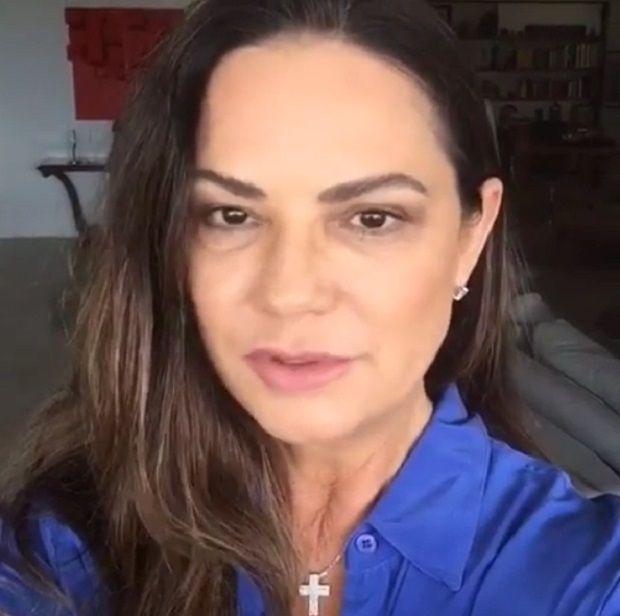 Luiza Brunet move ação contra ex