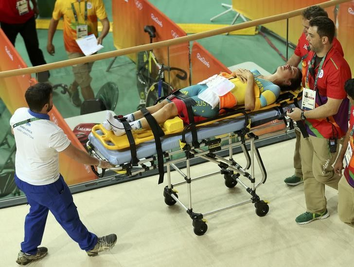 Ciclistas australianas colidem em treino e uma atleta é hospitalizada