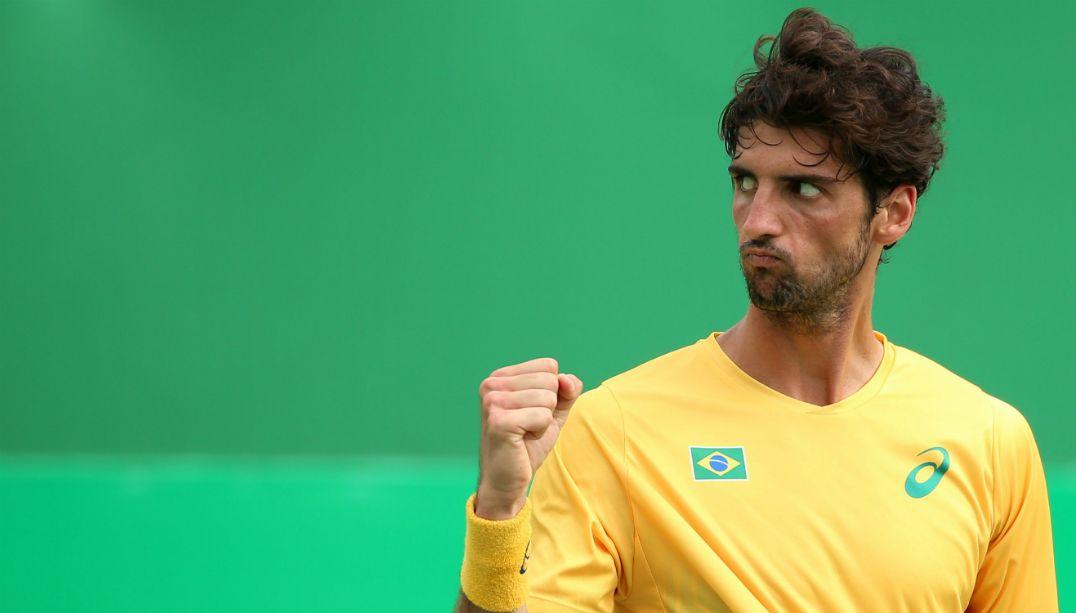 Bellucci derrota belga e enfrenta Nadal nas quartas de final do Rio 2016