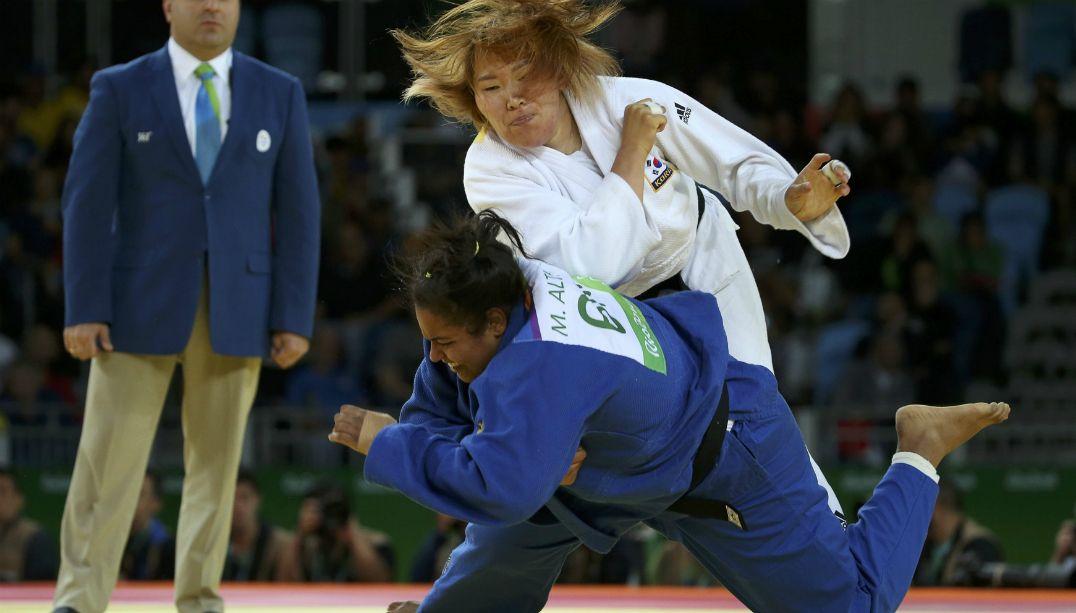 Maria Suelen perde e está eliminada no judô dos Jogos Olímpicos