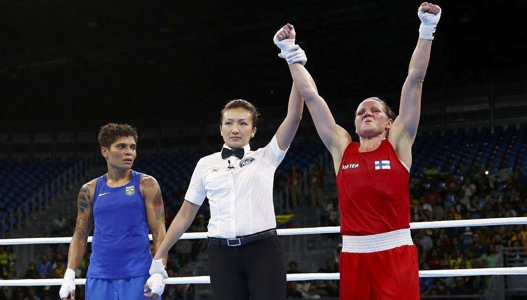 Bronze em Londres, Adriana Araújo perde e é eliminada
