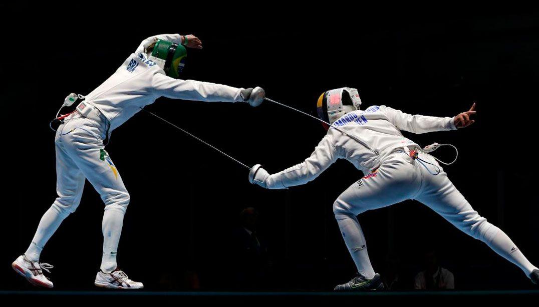 Brasil perde para Venezuela na espada masculina por equipes