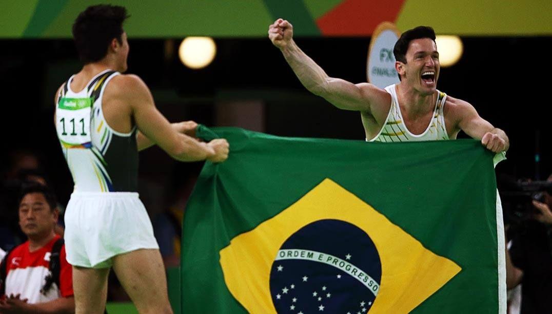 Ginástica artística é a surpresa positiva do Brasil nos Jogos Olímpicos