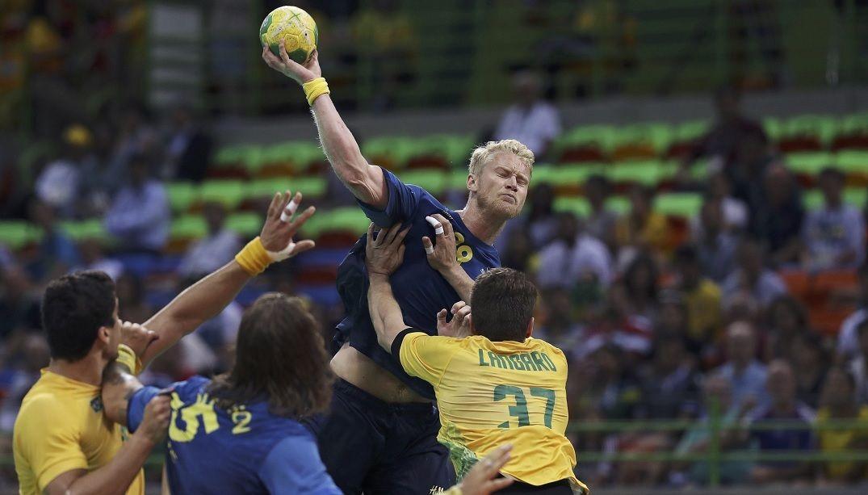 Já classificado, Brasil perde 'jogo-treino' para a Suécia