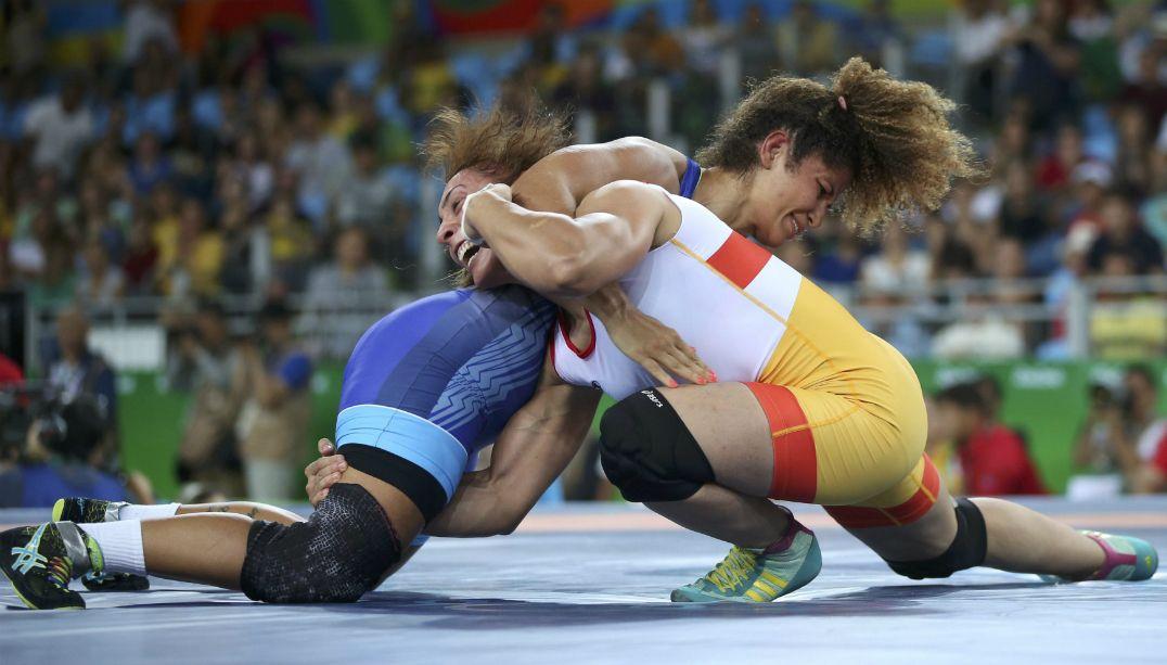 Brasileiras são eliminadas na luta olímpica
