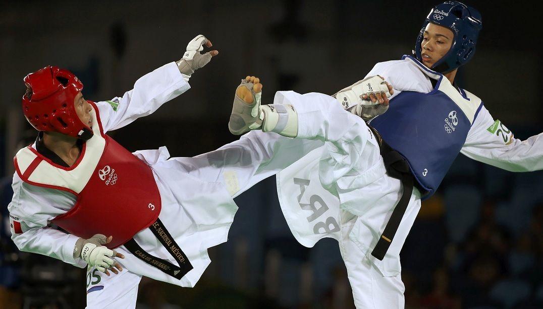 Brasileiros caem nas quartas de final do taekwondo