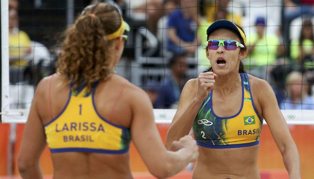 Larissa e Talita perdem o bronze em Copacabana