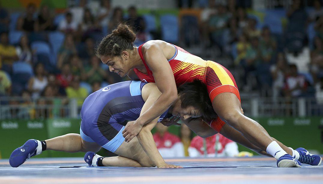 Aline Silva perde na luta olímpica