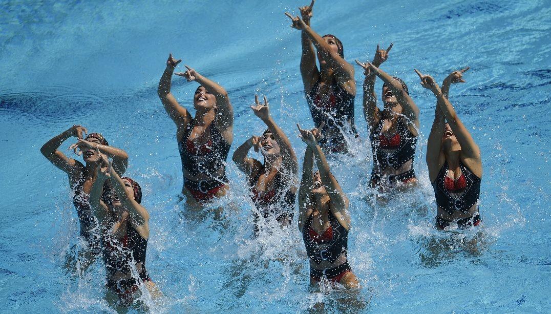 Brasil fica em sexto no nado sincronizado