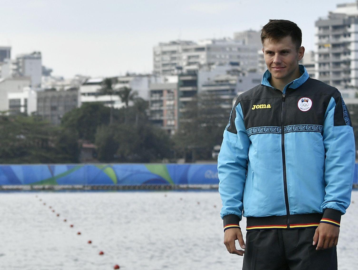 Canoísta da Moldávia é pego em exame antidoping