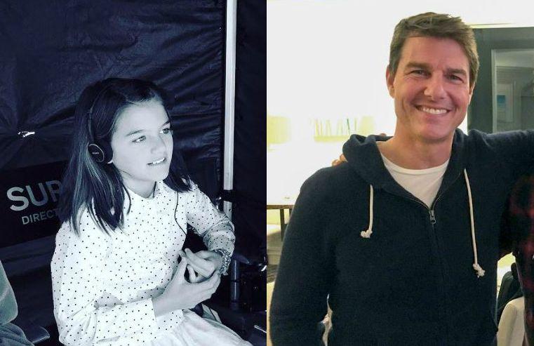Tom Cruise volta a ver sua filha após três anos