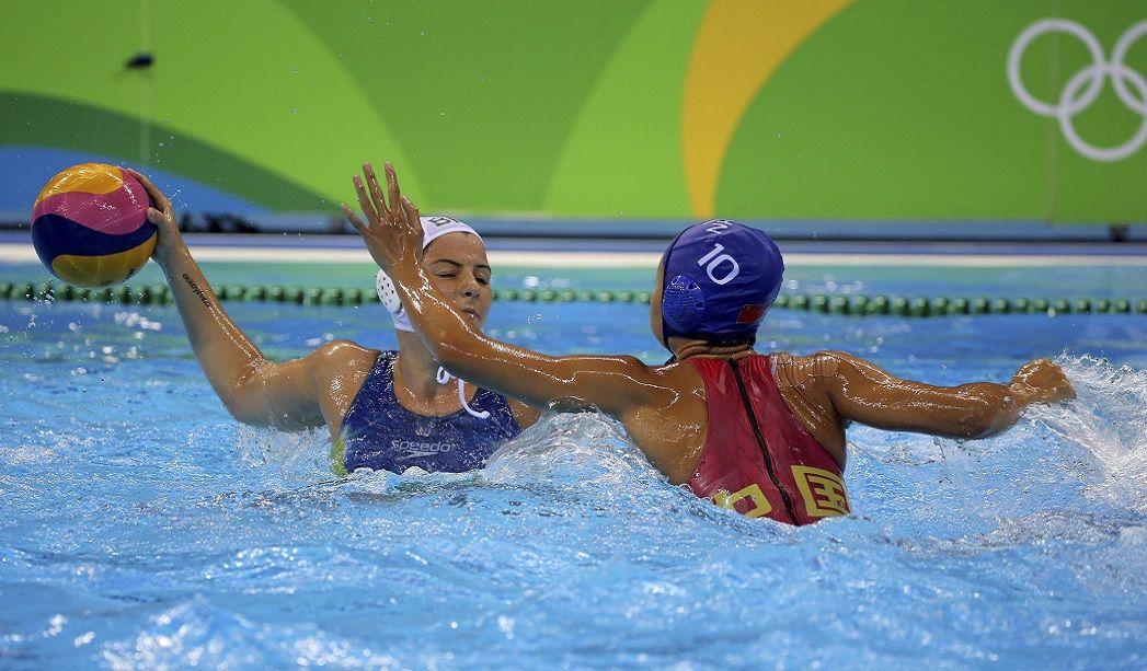 Brasil termina em último no polo aquático feminino