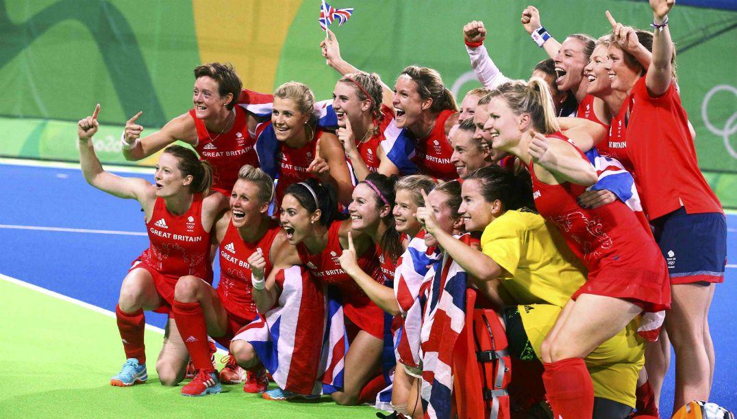 Grã-Bretanha leva ouro no hóquei sobre grama feminino
