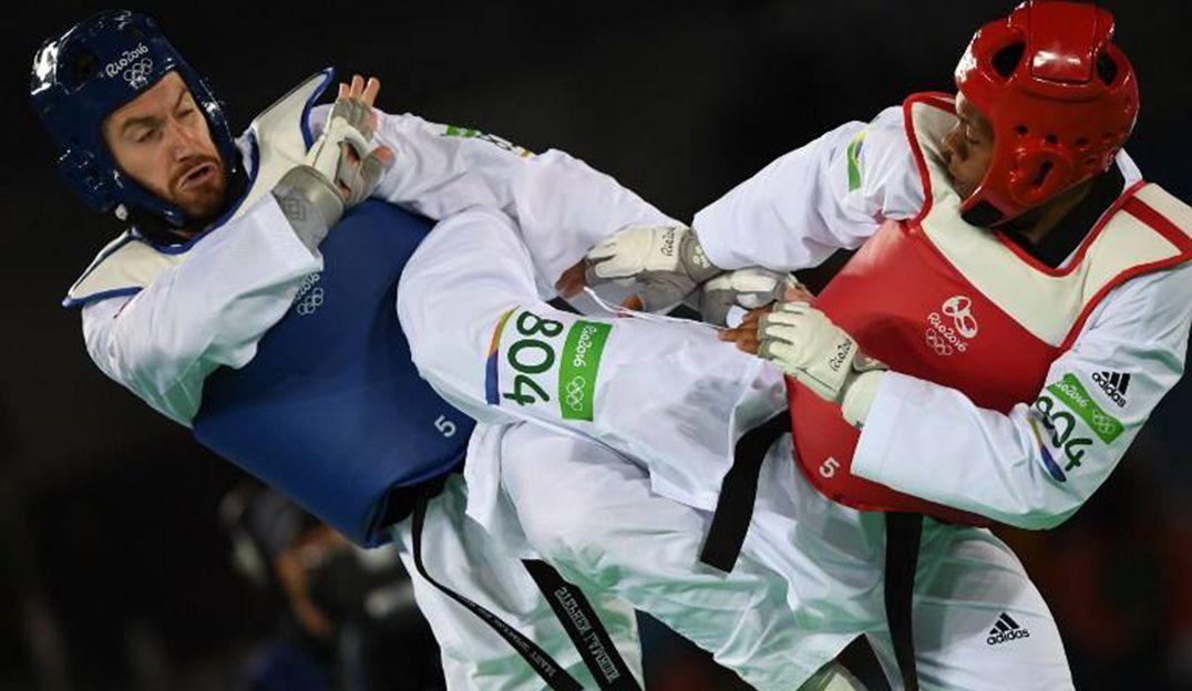 Maicon Andrade é derrotado por nigerense no taekwondo